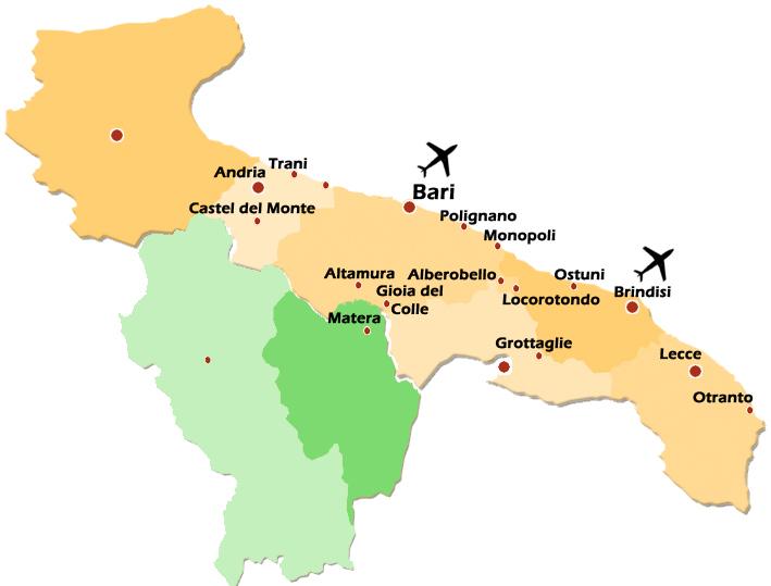 Ad Pugliam The big Apulian tour